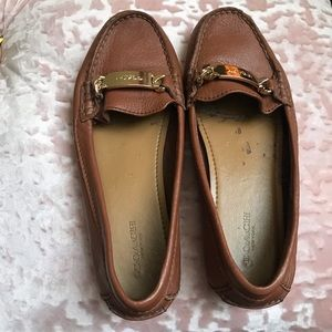 Coach Olive Loafer Cognac Well Loved